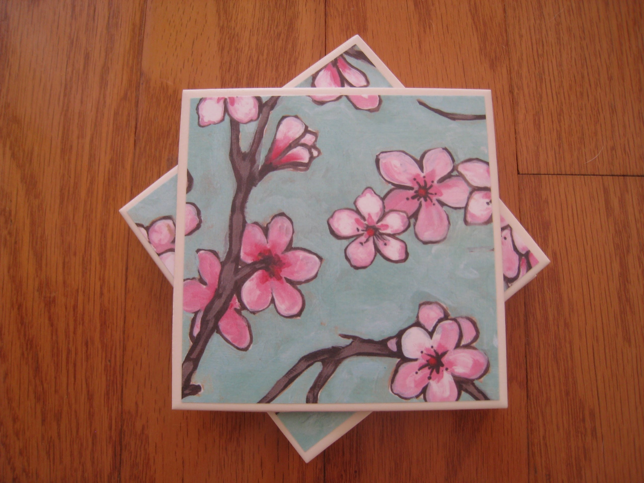 20 cool diy tile coasters guide patterns for Ceramic tiles for crafts projects