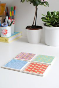 Tile Coasters Ideas