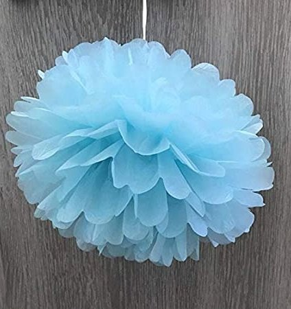 35 Tissue Paper Pom Poms | Guide Patterns