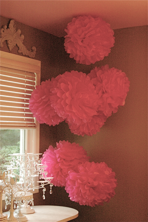 35 Tissue Paper Pom Poms Guide Patterns
