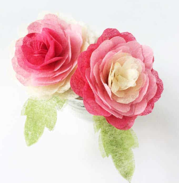 13 diy tissue paper roses guide patterns tissue paper rose pattern mightylinksfo