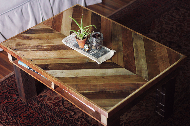 Coffee Tables Made Out Of Crates