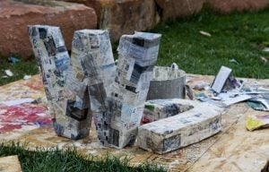 12 Inch Paper Mache Letters
