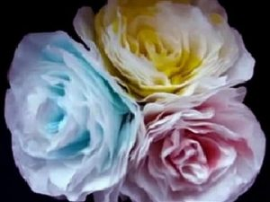 Coffee Filter Rose Idea