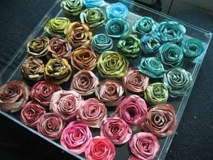 Coffee Filter Roses Picture