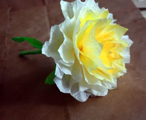 Simple Coffee Filter Rose Tutorial