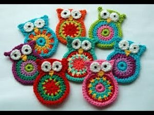 Crochet Animal Coasters