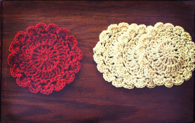 60 Crochet Coaster Patterns The Funky Stitch Gorgeous Crochet Coaster Pattern
