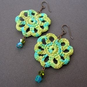 Crochet Earring Pattern