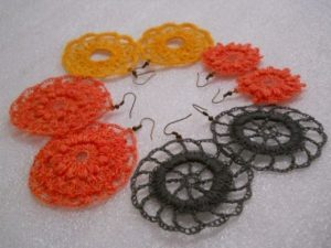Crochet Earrings Patterns
