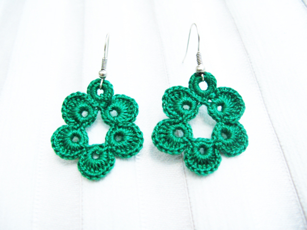 Crochet Earrings : Crochet Earrings