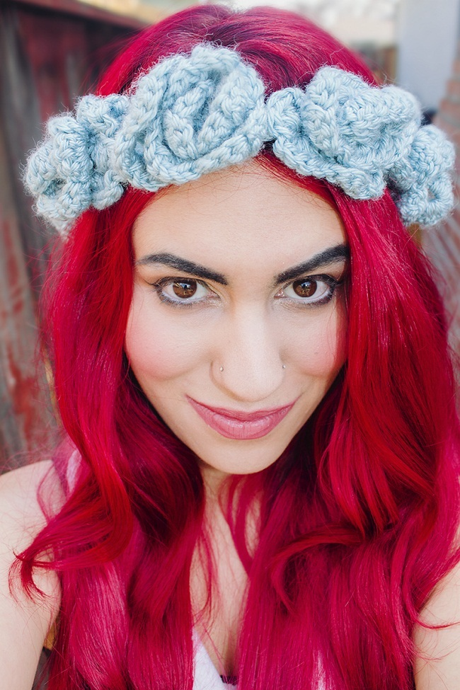 How To Make Crochet Flowers For Headbands Flowers Healthy