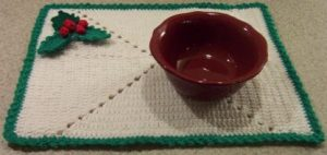 Crochet Holiday Placemat
