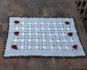 Crochet Lace Placemat