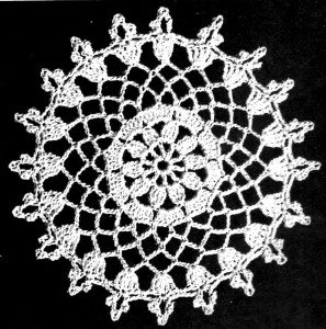 Crochet Lace Tablecloth Pattern