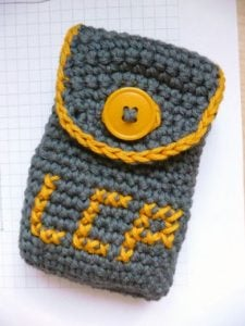 Crochet Letters into Work