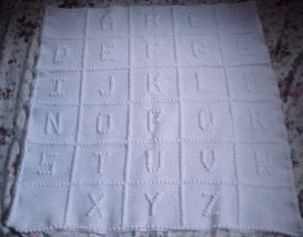 Crocheting Letters Into Blankets : 12 Crochet Letter Patterns Guide Patterns
