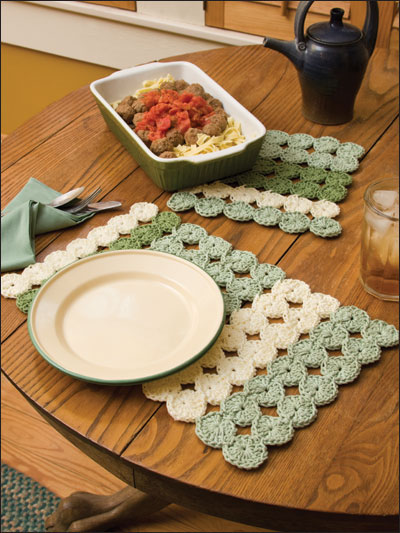 37 crochet placemat patterns guide patterns crochet spring placemat ccuart Choice Image