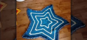 Crochet Star Placemat