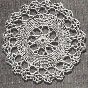 Crochet Thread Placemat Pattern
