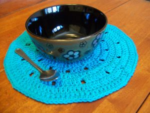 Crochet a Round Placemat