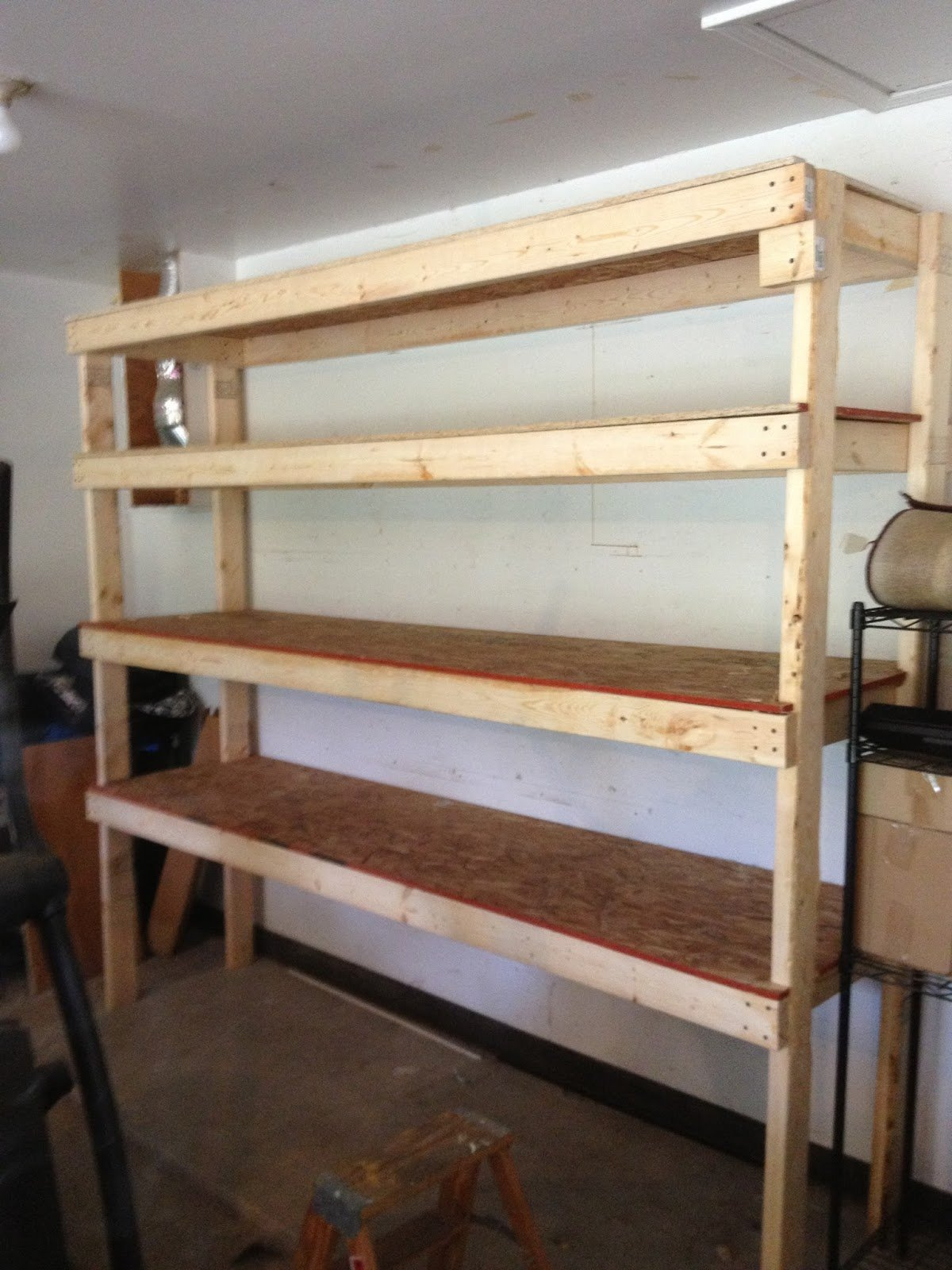 DIY Garage Shelves 2x4 & 20 DIY Garage Shelving Ideas | Guide Patterns
