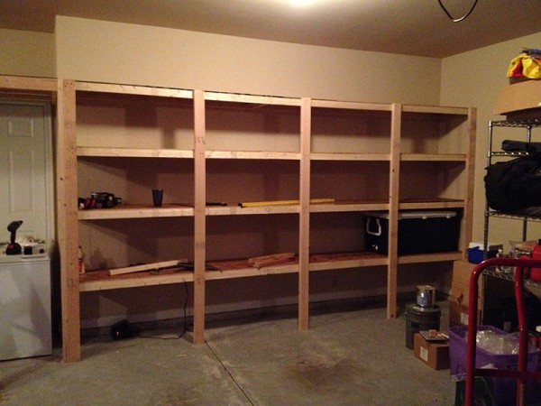 DIY Garage Shelves. 20 DIY Garage Shelving Ideas   Guide Patterns