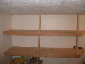 DIY Garage Shelving Plan