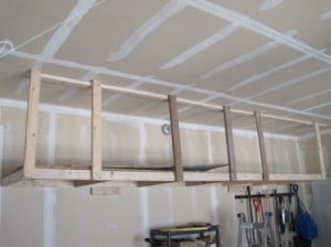 Garage Metal Wall Shelving
