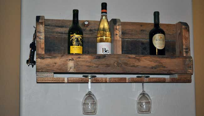 Diy Wine Rack Idea