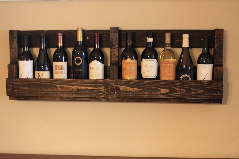 14 easy diy wine rack plans guide patterns rh guidepatterns com diy wine box shelves diy wine storage