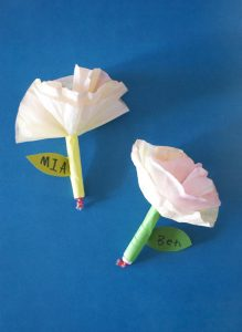 Easy Coffee Filter Roses