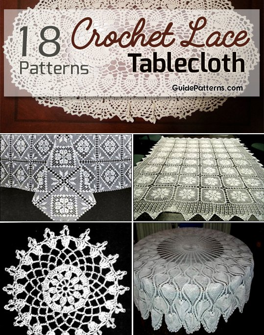 18 Easy Crochet Lace Tablecloth Patterns | Guide Patterns