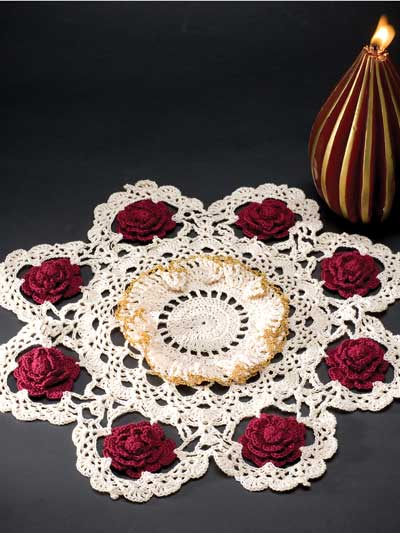 Cloth Doily Crafts