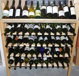 Easy DIY Wine Rack