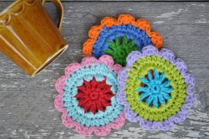 Free Crochet Pattern for Coasters