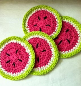 Free Crochet Patterns for Coaster