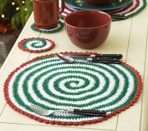 Free Crochet Pattern for Placemat