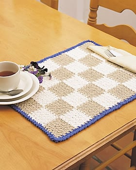 Crocheting Placemats : 37 Crochet Placemat Patterns Guide Patterns