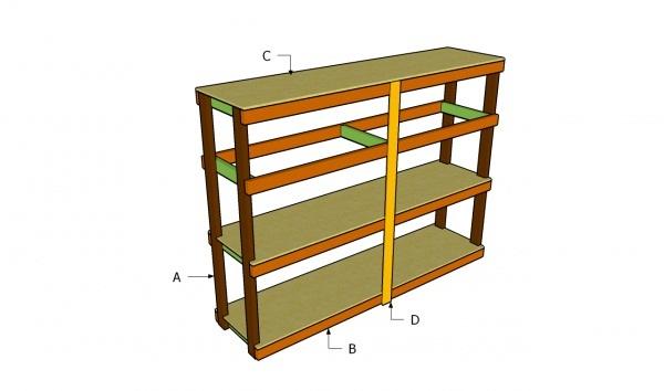 20 diy garage shelving ideas guide patterns for Building plan storage