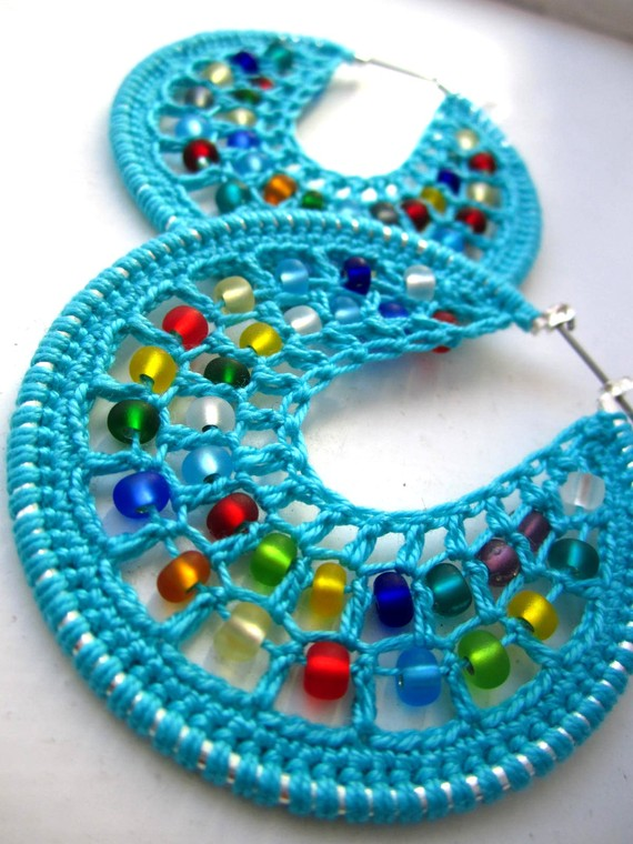 Crochet Earrings : How to Make Crochet Earrings