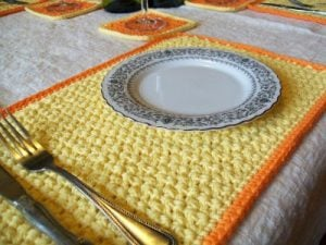 Placemat Crochet Pattern