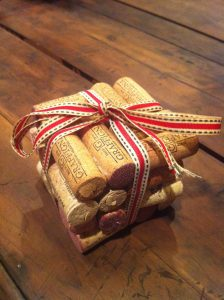 Square Wine Cork Coasters