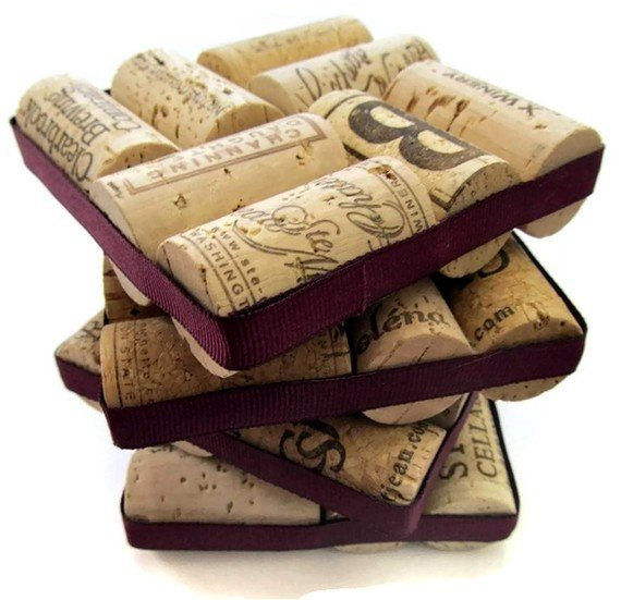 11 Wine Cork Coasters Guide Patterns
