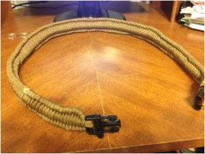 Adjustable Paracord Belt
