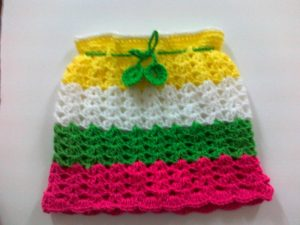 Crochet Baby Girl Skirt Pattern