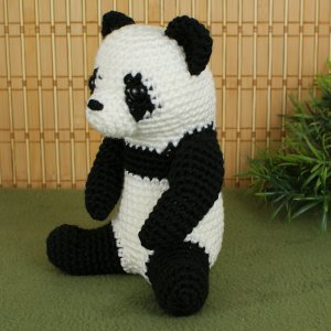 Crochet Huge Panda Teddy Bear