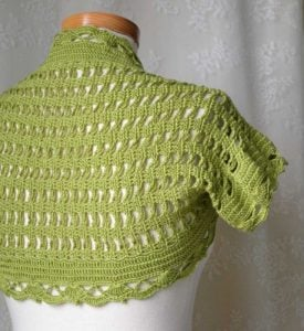 Crochet Pattern Shrug