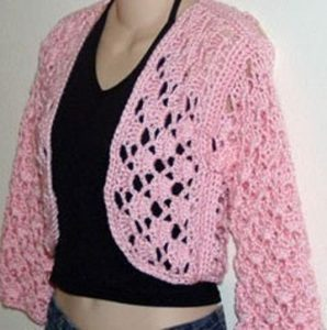 Crochet Shrug Sweater