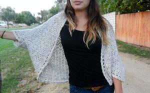 Crochet Shrug Sweater Pattern